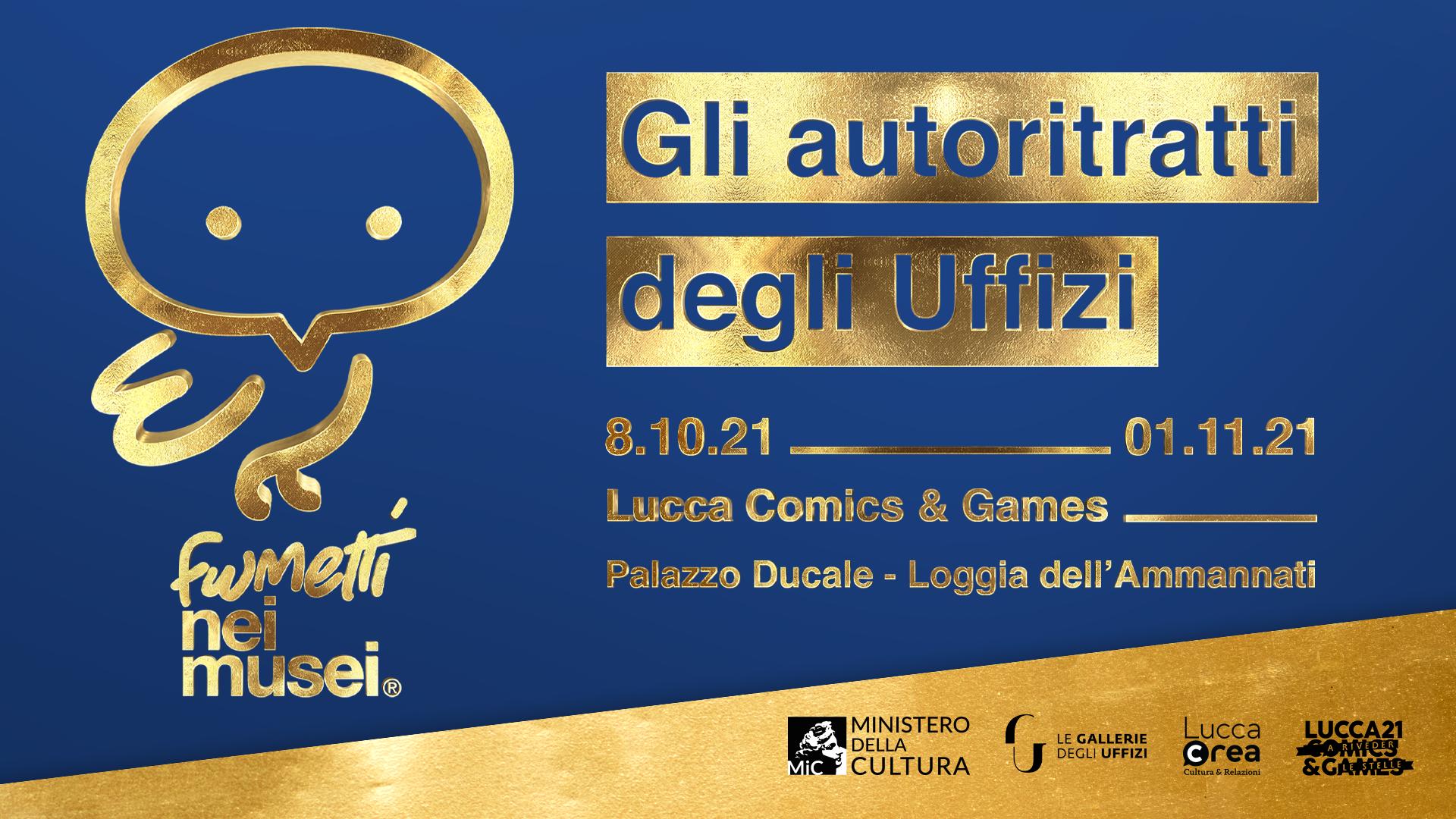 Fumetti_Autoritratti_Uffizi_Lucca